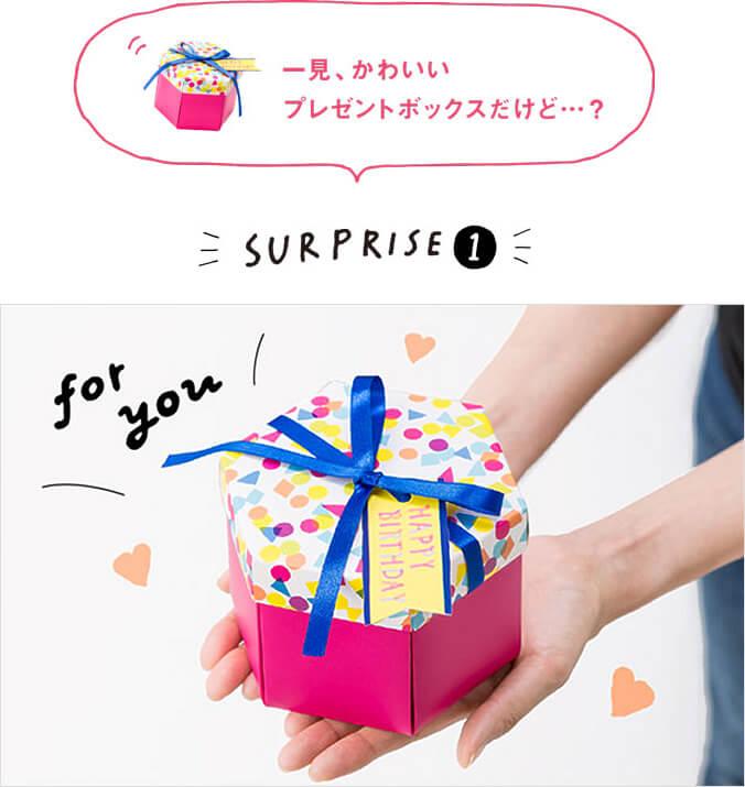 お誕生日や記念日にプレゼント?