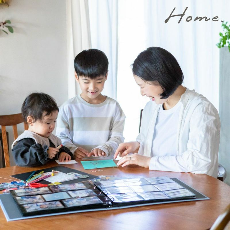 home_バインダーアルバム_リフィル_まとめ買いセット(20枚)